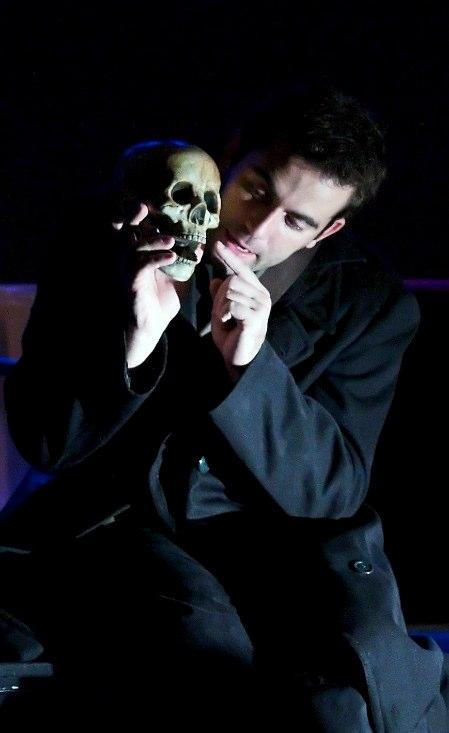 Hamlet with skull, 2010, photo Bradley Ball