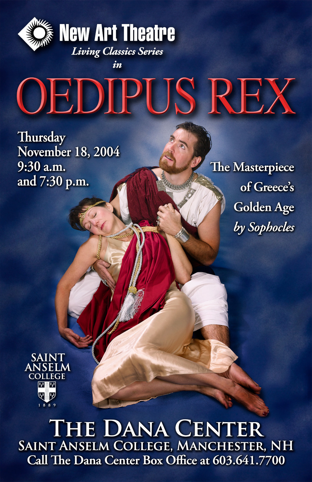 Poster for Oedipus Rex, 2004