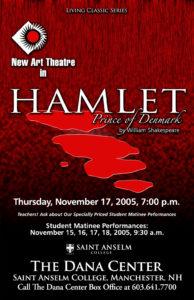 Poster for Hamlet, 2005